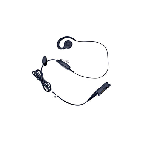 Motorola DP Series - Earpiece In-Line Mic PTT, Swivel, Mag One