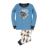 Hatley Blast Off Pyjama Gift Set (Incl. Gift Box)