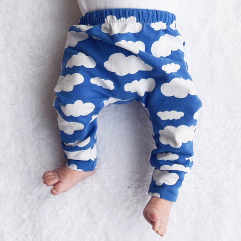 Fred & Noah Blue Cloud Leggings