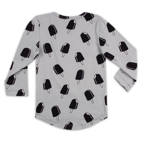 CarlijnQ Long Sleeve Ice Cream Grey