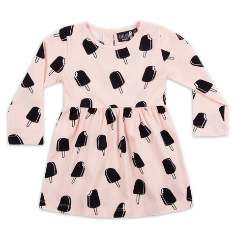 CarlijnQ Dress Ice Cream Pink