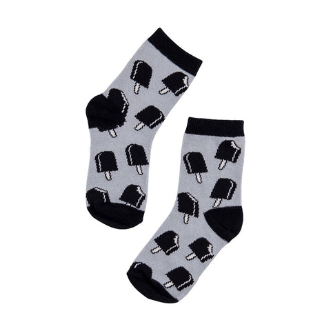 CarlijnQ Knee Socks Ice Cream Grey