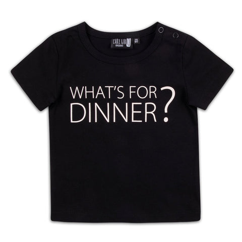 CarlijnQ T-Shirt What's For Dinner?