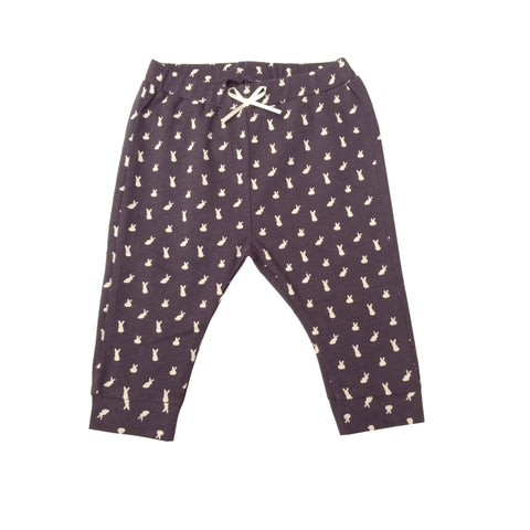 Cotton Rabbit Print Trousers