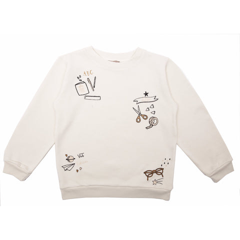 Embroidered School Jumper