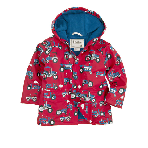 Farm Tractors Raincoat