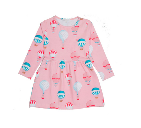 Girl's organic cotton dress