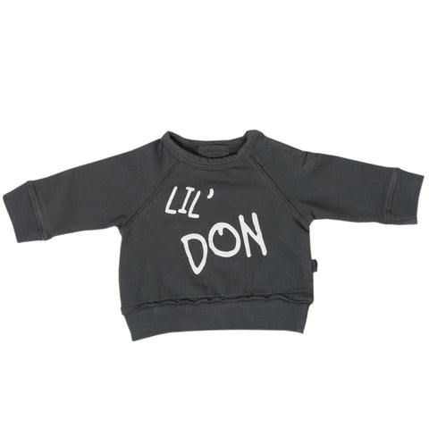 Lil' Don Charcoal Jumper