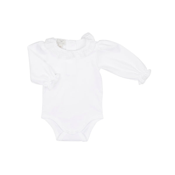 Baby Girl's Bodysuit with Collar