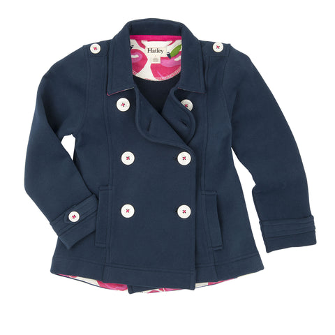 Nordic Apple Brushed Fleece Pea Coat