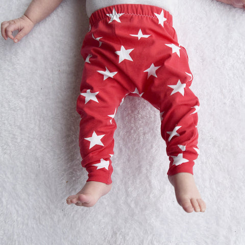 Fred & Noah Red Star Leggings