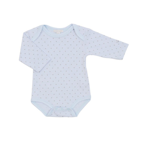 Livly Saturday Romper Blue/Silver Dots