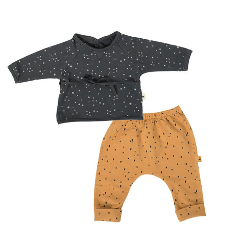 My Little Cozmo Star Print Jumper & Leggings Set (Incl. Gift Box)