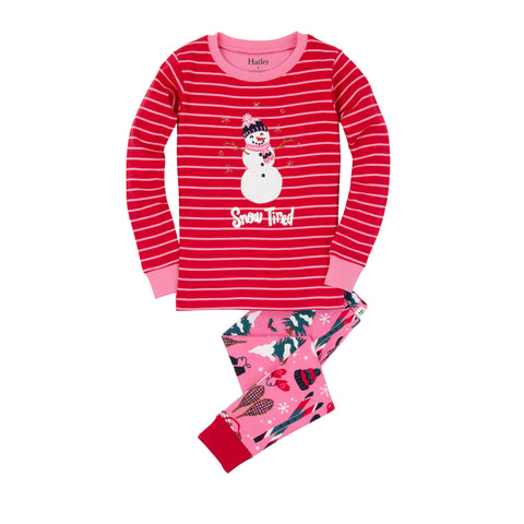 Snow Tired Pajama Set