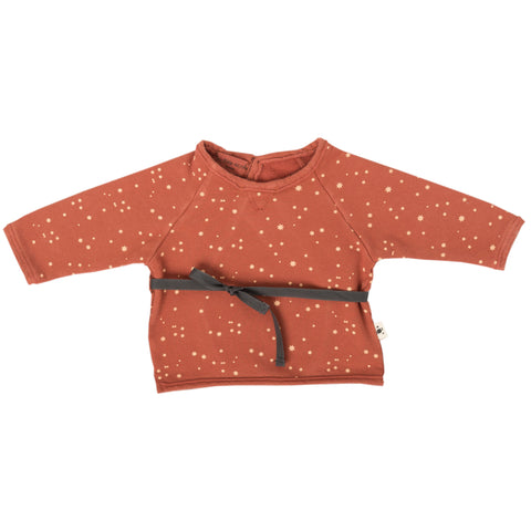 Stars Ribbon Waist Jumper