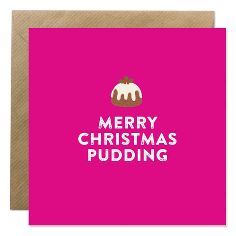 Merry Christmas Pudding