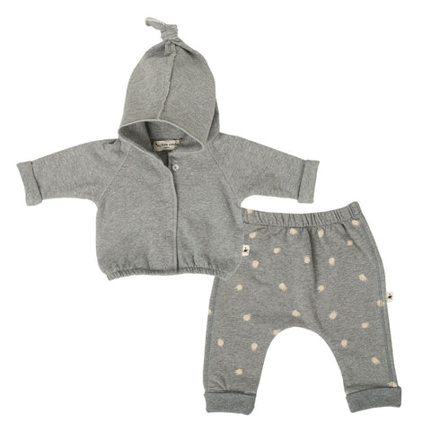 Baby Jacket & Feather Pants Set (Incl. Gift Box)