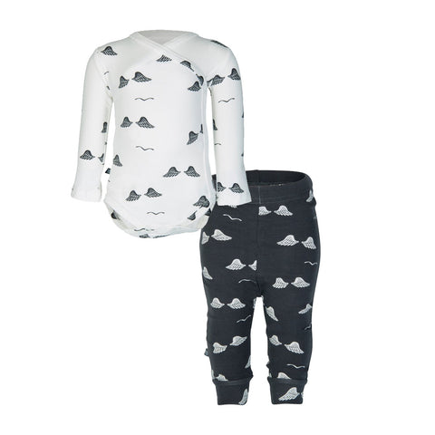 nOeser Wings Romper & Pants Gift Set (Incl. Gift Box)