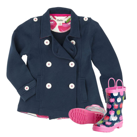 Hatley Farm Tractors Jacket & Boots Set (Incl. Gift Box)