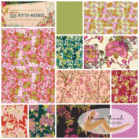 365 FIFTH AVENUE by Bari J for Art Gallery Fabrics - NEW ARRIVAL