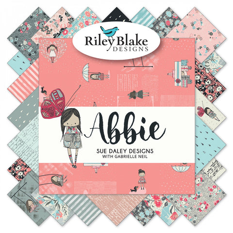 ABBIE by Sue Daley Designs for Riley Blake - NEW ARRIVAL