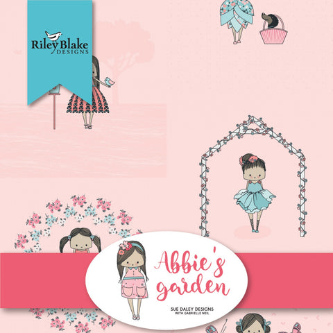 ABBIE'S GARDEN by Sue Daley Designs for Riley Blake - NEW ARRIVAL