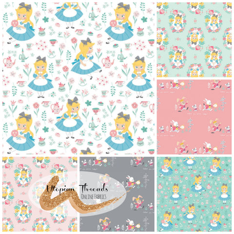 ALICE IN WONDERLAND by Camelot Fabrics
