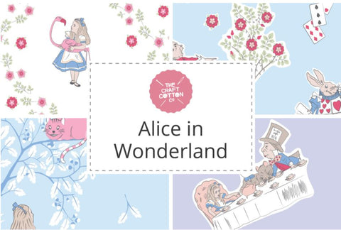 ALICE IN WONDERLAND by The Craft Cotton Co - NEW ARRIVAL