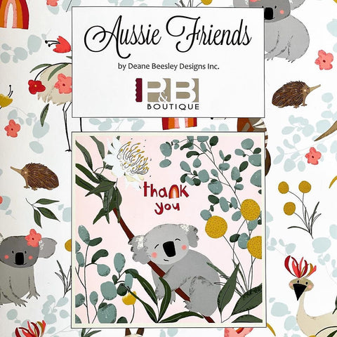 AUSSIE FRIENDS by Deane Beesley for P & B Textiles - NEW ARRIVAL