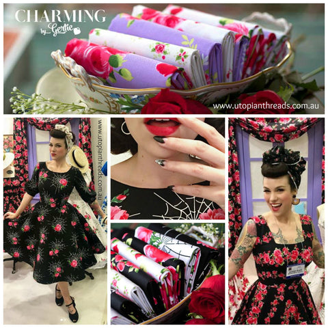 CHARMING by Gertie for Michael Miller - PRE ORDER (Sept/Oct 2018)