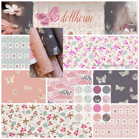 DOLLHOUSE by Amy Sinibaldi for Art Gallery Fabrics - NEW ARRIVAL