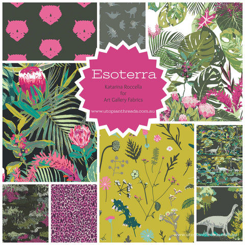 ESOTERRA by Katarina Roccella for Art Gallery Fabrics - PRE ORDER (Oct/Nov 2017)