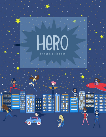 HERO by Sandra Clemons for Michael Miller - PRE ORDER (May 2019)