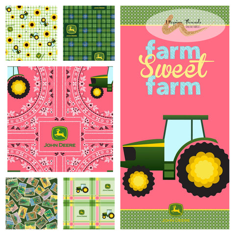 JOHN DEERE Assorted Prints