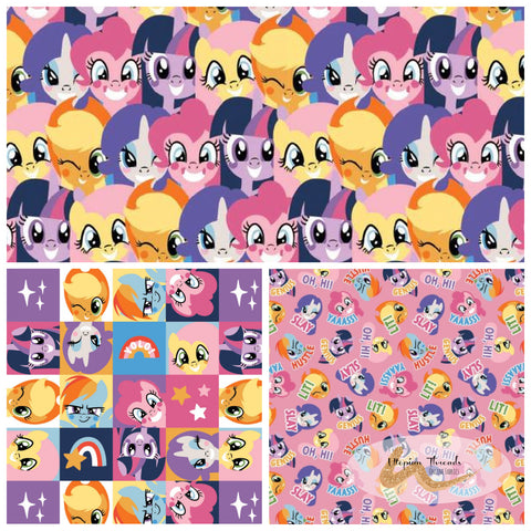 MY LITTLE PONY by Camelot Fabrics - PREORDER (Sept/Oct 2017)