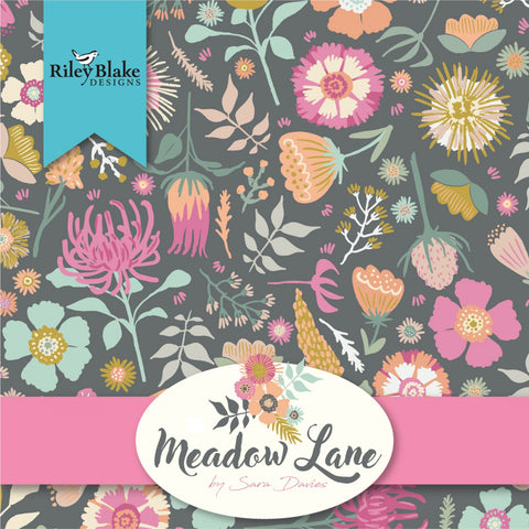 MEADOW LANE by Sara Davies for Riley Blake - NEW ARRIVAL