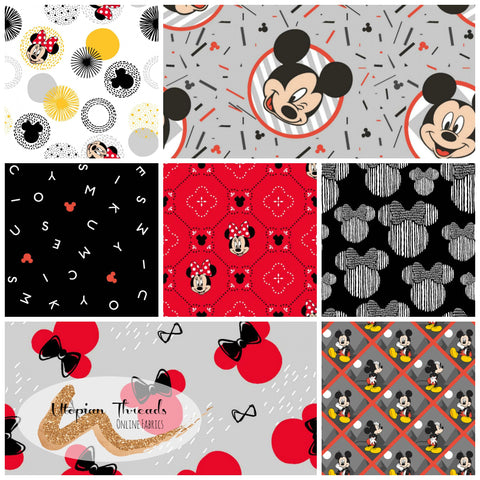 MICKEY & MINNIE MOUSE Assorted Designs - NEW ARRIVAL