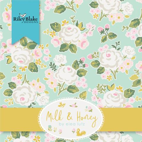 MILK & HONEY by Elea Lutz for RILEY BLAKE - NEW ARRIVAL