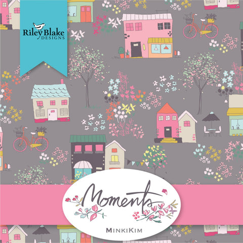 MOMENTS by Minki Kim for Riley Blake - NEW ARRIVAL