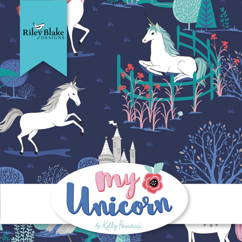 MY UNICORN for Riley Blake - NEW ARRIVAL