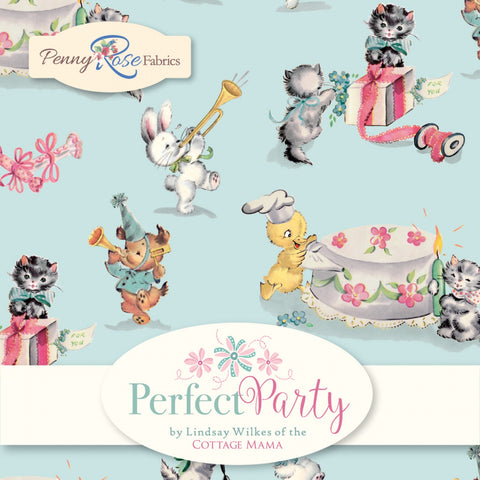PERFECT PARTY by Cottage Mama for Penny Rose Fabrics - NEW ARRIVAL