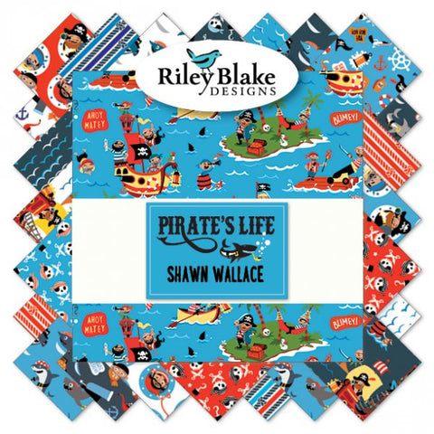 PIRATE'S LIFE by Shawn Wallace Collection for Riley Blake - NEW ARRIVAL