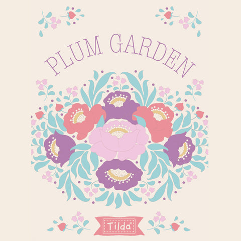 PLUM GARDEN COLLECTION by TILDA - PRE ORDER (July 2019)
