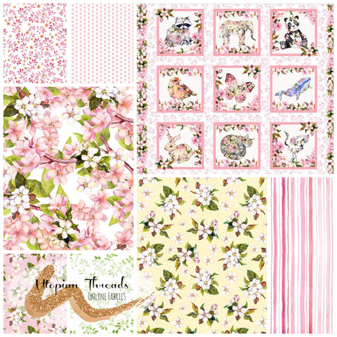 PRETTY IN PINK by In The Beginning Fabrics - NEW ARRIVAL
