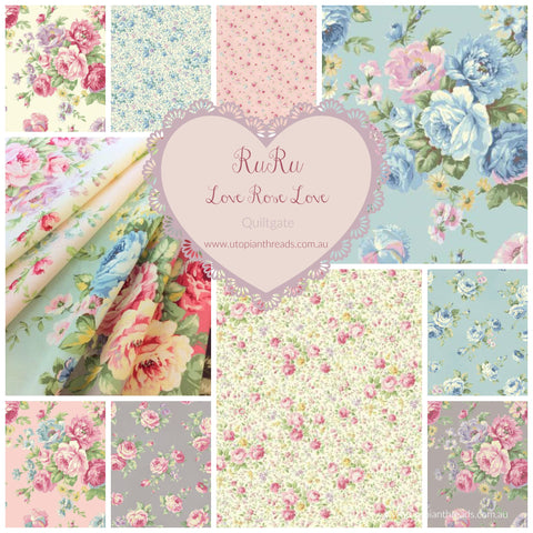 RURU LOVE ROSE LOVE by Quiltgate