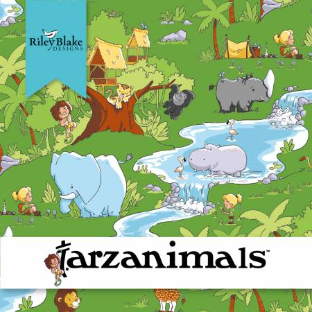 TARZANIMALS for Riley Blake - NEW ARRIVAL