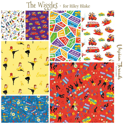 THE WIGGLES by Riley Blake - NEW ARRIVAL