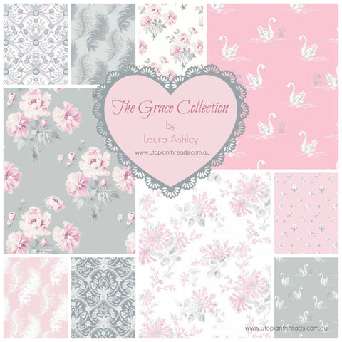 THE GRACE COLLECTION by Laura Ashley for Camelot Fabrics - PRE ORDER (January 2018)