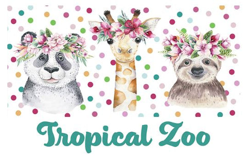 TROPICAL ZOO by Devonstone Collections - NEW ARRIVAL