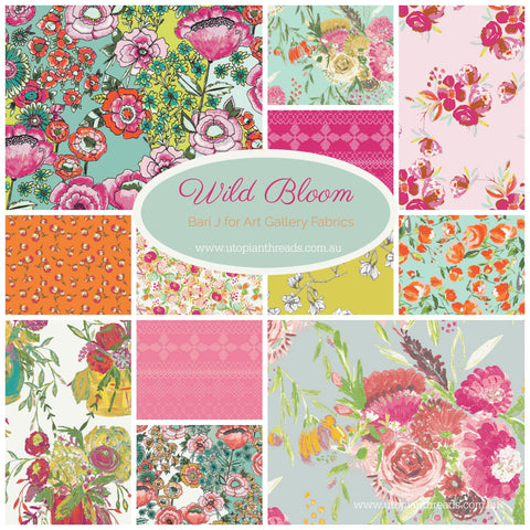WILD BLOOM by Bari J for Art Gallery Fabrics - PRE ORDER (Sept/Oct 2017)